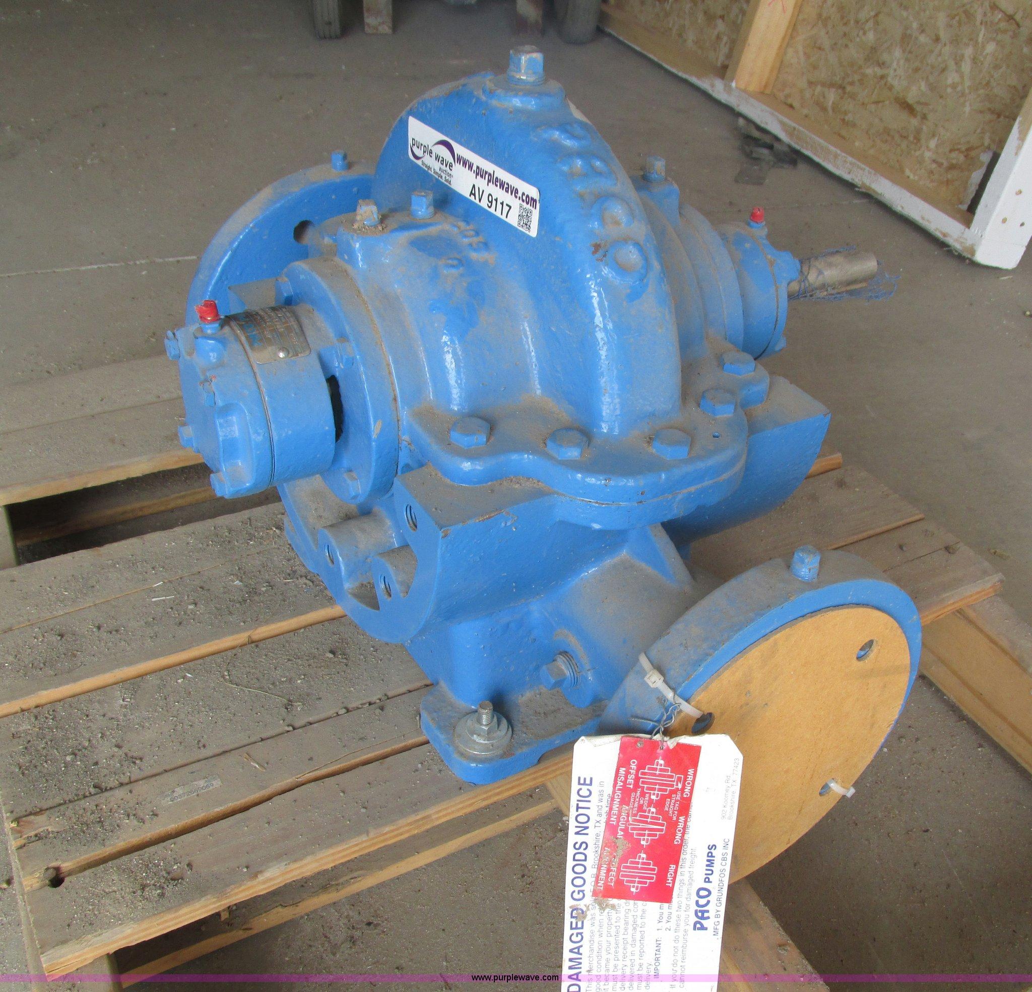 Paco pump | Item AV9117 | SOLD! September 24 Construction Eq
