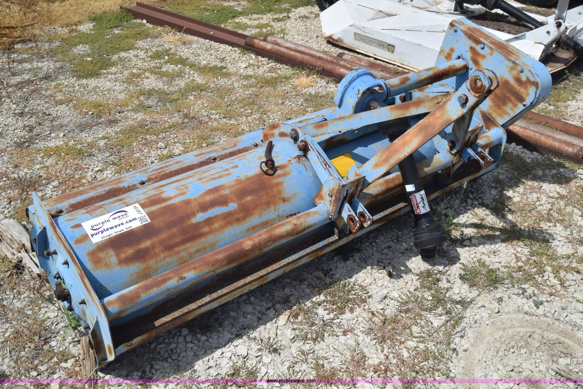 Ford 917 flail mower   Item J8124   SOLD! October 6 Governme