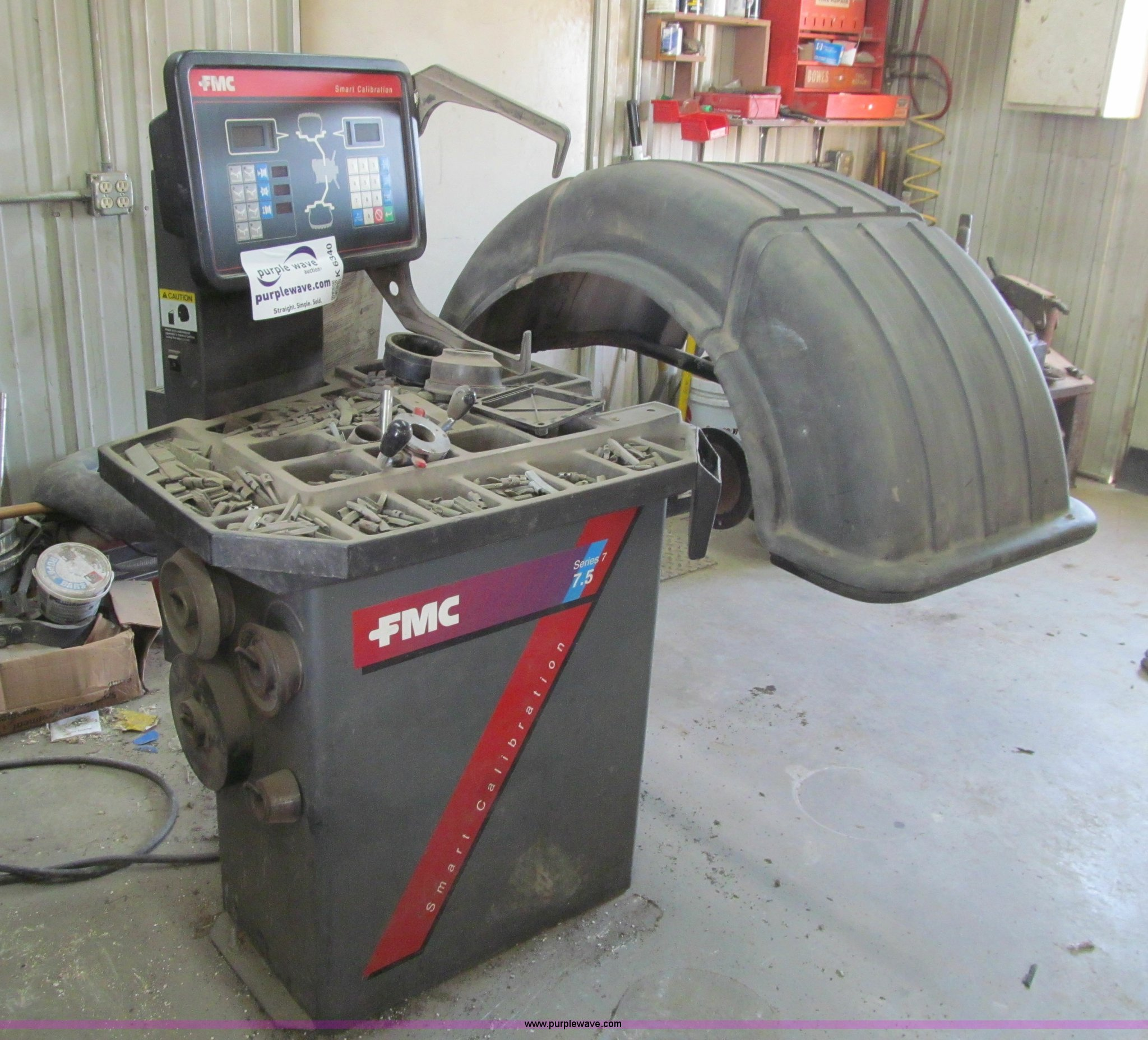 K6340 image for item K6340 FMC Series 7 7.5 Smart Calibration wheel balancer