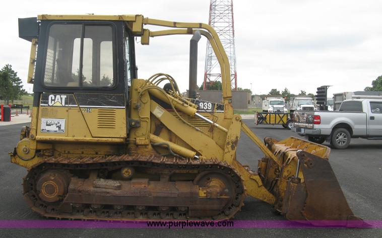 1996 Caterpillar 939 track loader | Item L6356 | SOLD! Octob