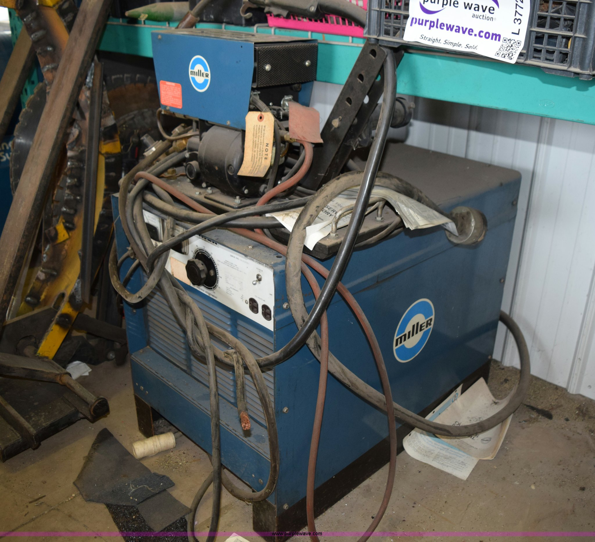 Miller Mp45e Dc Wire Welder Item L3771 Sold October 15 Wiring A Full Size In New Window