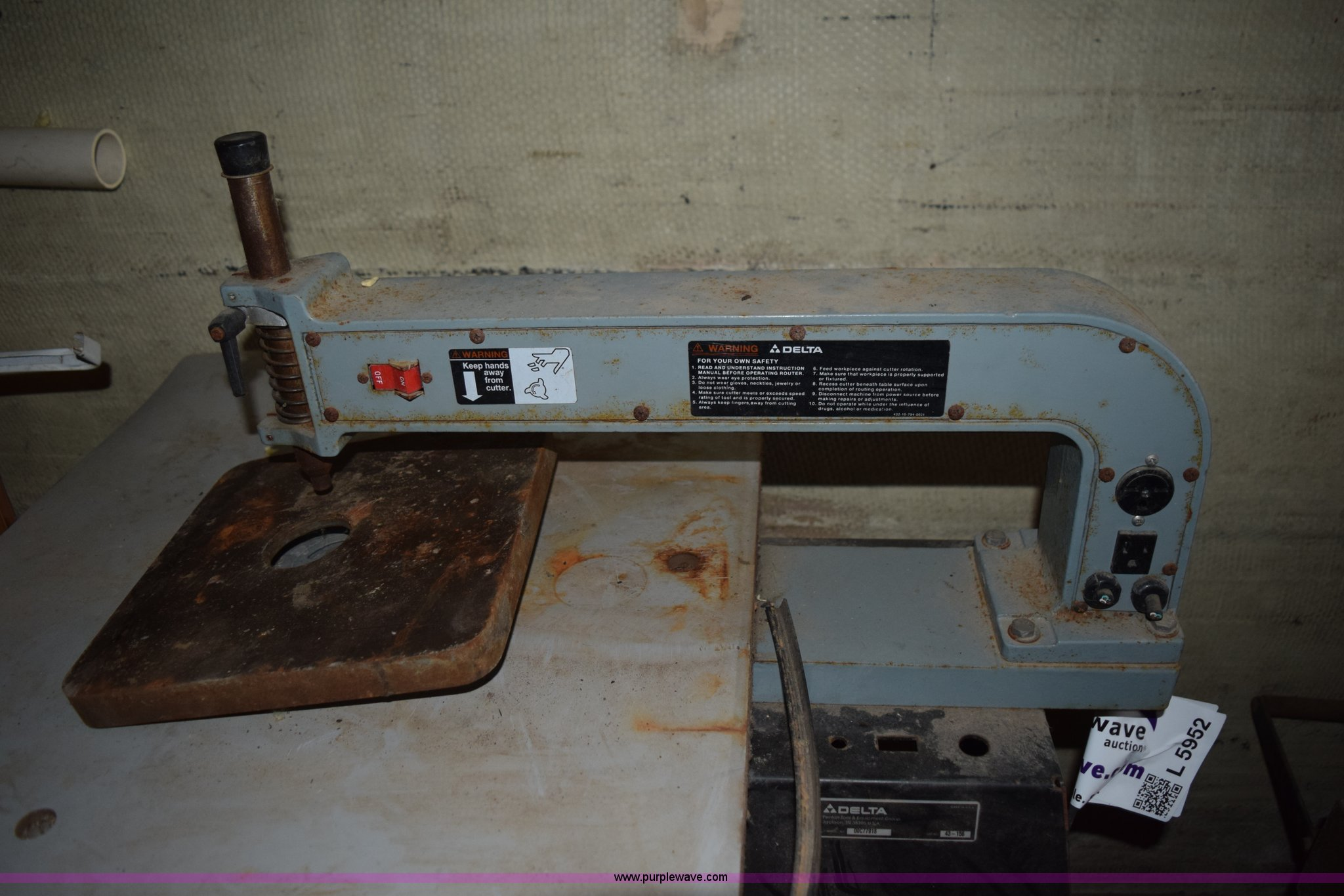 2) Delta jointers | Item L5952 | SOLD! October 15 Rogers Tr