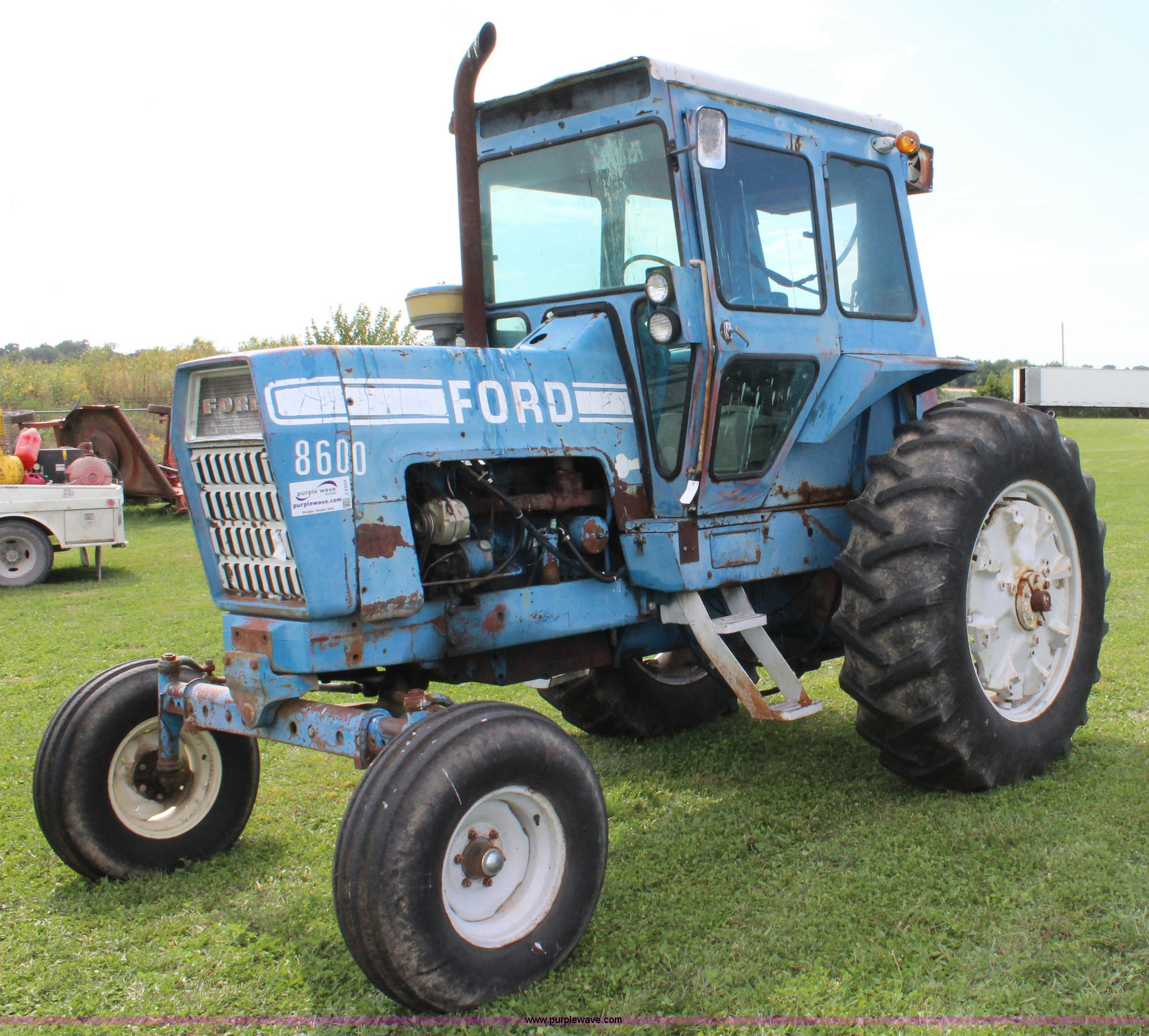 Ford 8600 Tractor Pto Assembly For : Ford tractor item j sold october ag
