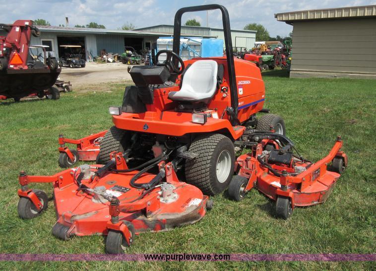 Array - jacobsen hr 5111 wide area mower   item bb9232   sold  octob     rh   purplewave com