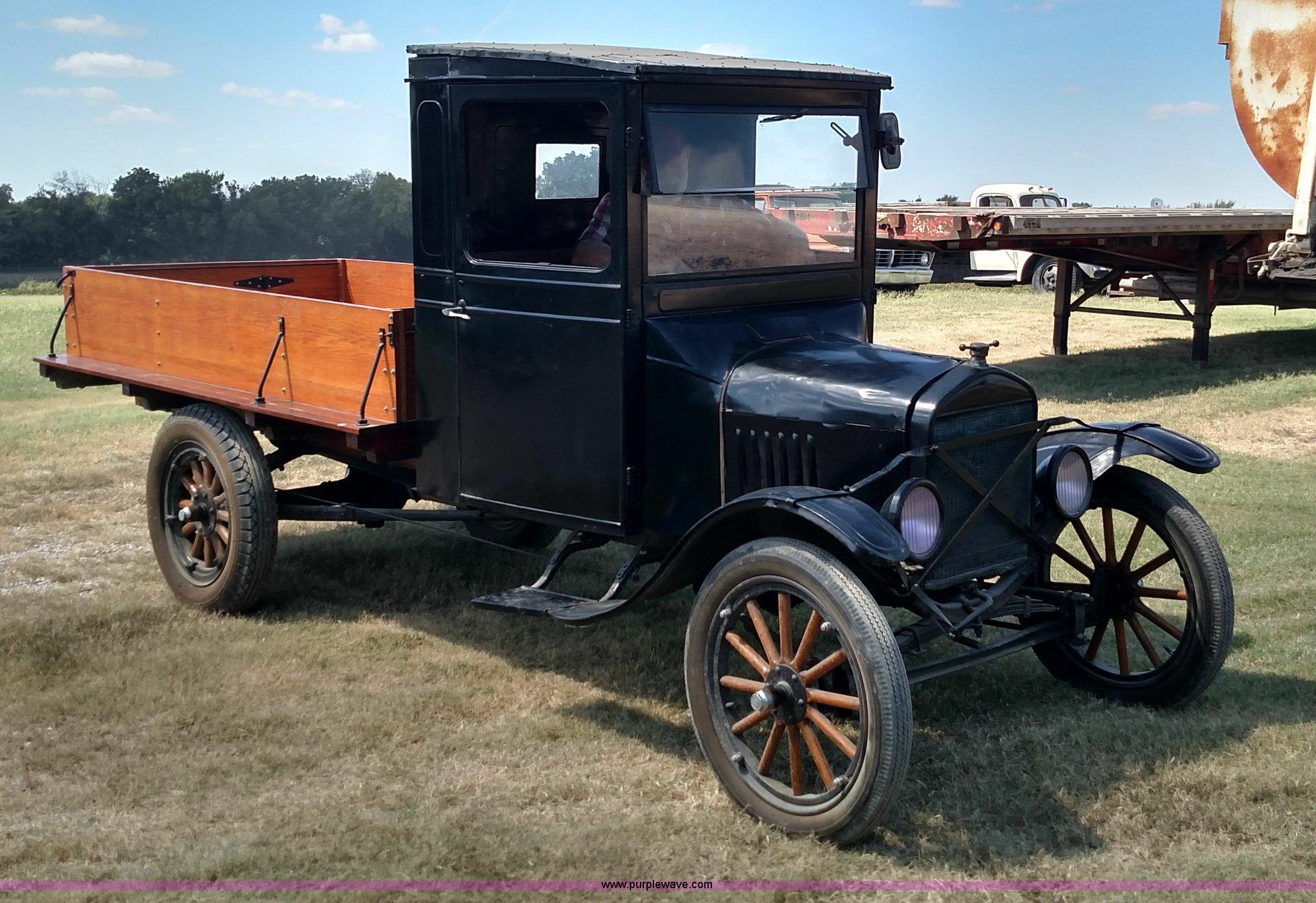 1919 Ford Model T pickup truck | Item D1688 | SOLD! October ...