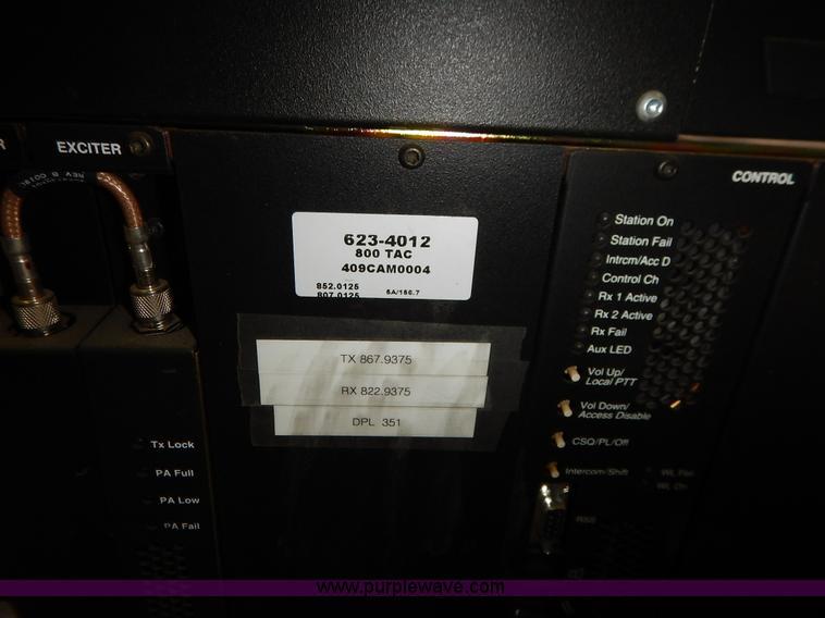 16) Motorola Quantro T5365A radio repeaters | Item BT9683 |