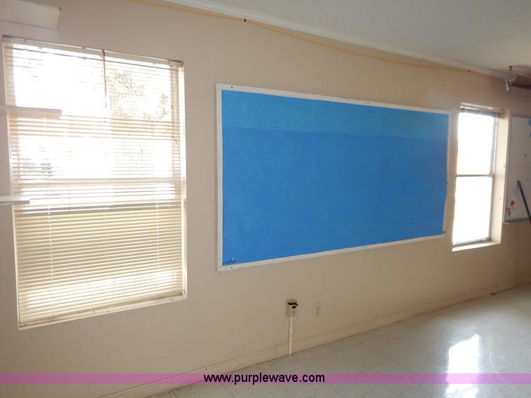 Modular Classroom Auction ~ Modular double wide classroom item bl sold