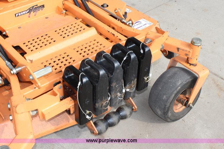 2010 Scag Turf Tiger ZTR lawn mower | Item J3719 | SOLD! Nov