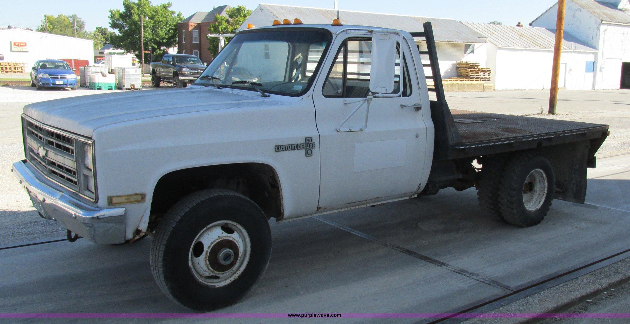 1987 Chevrolet K30 flatbed pickup truck | Item K5183 | SOLD!
