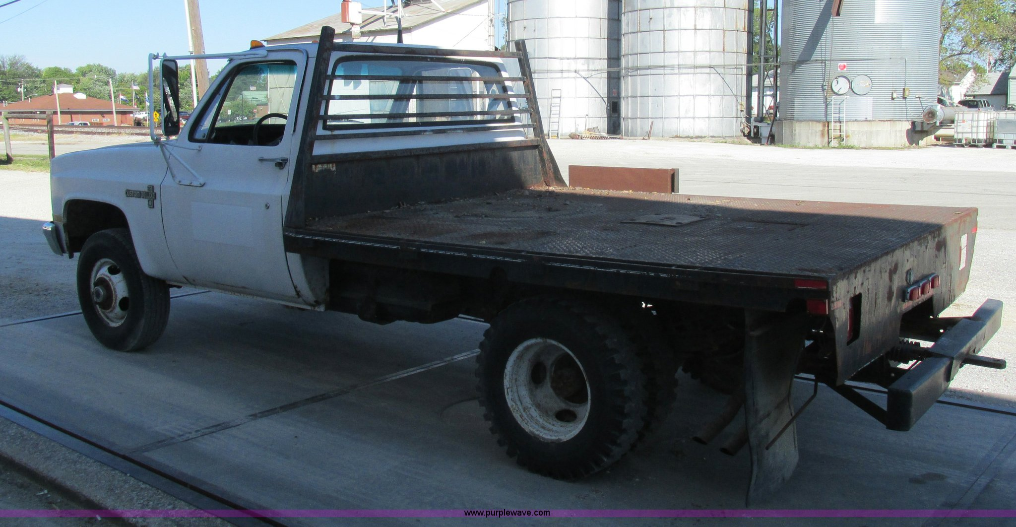 1987 Chevrolet K30 flatbed pickup truck | Item K5183 | SOLD!