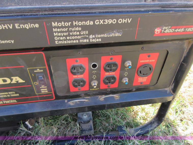 honda black max 8125 generator manual
