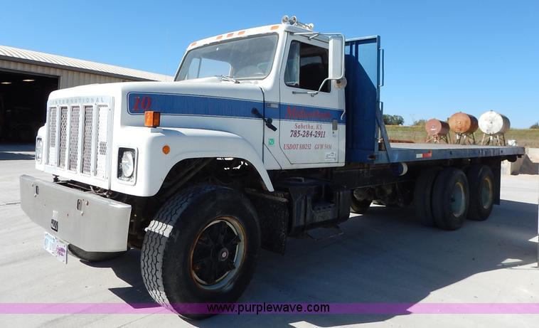 1979 International F2554 Flatbed Truck Item L3501 Sold