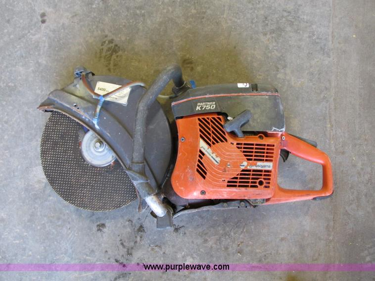 Husqvarna K750 Partner hot saw | Item R9484 | SOLD! November