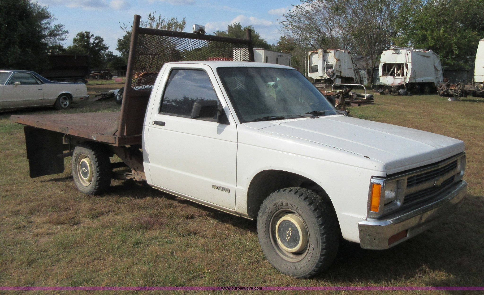 1993 Chevrolet S10 flatbed pickup truck | Item BB9160 | SOLD