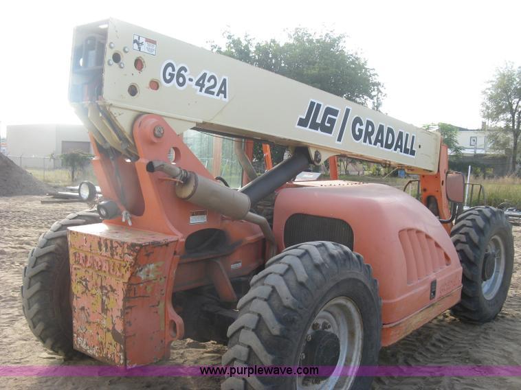 l6418 image for item l6418 2002 jlg gradall g6-42a telehandler