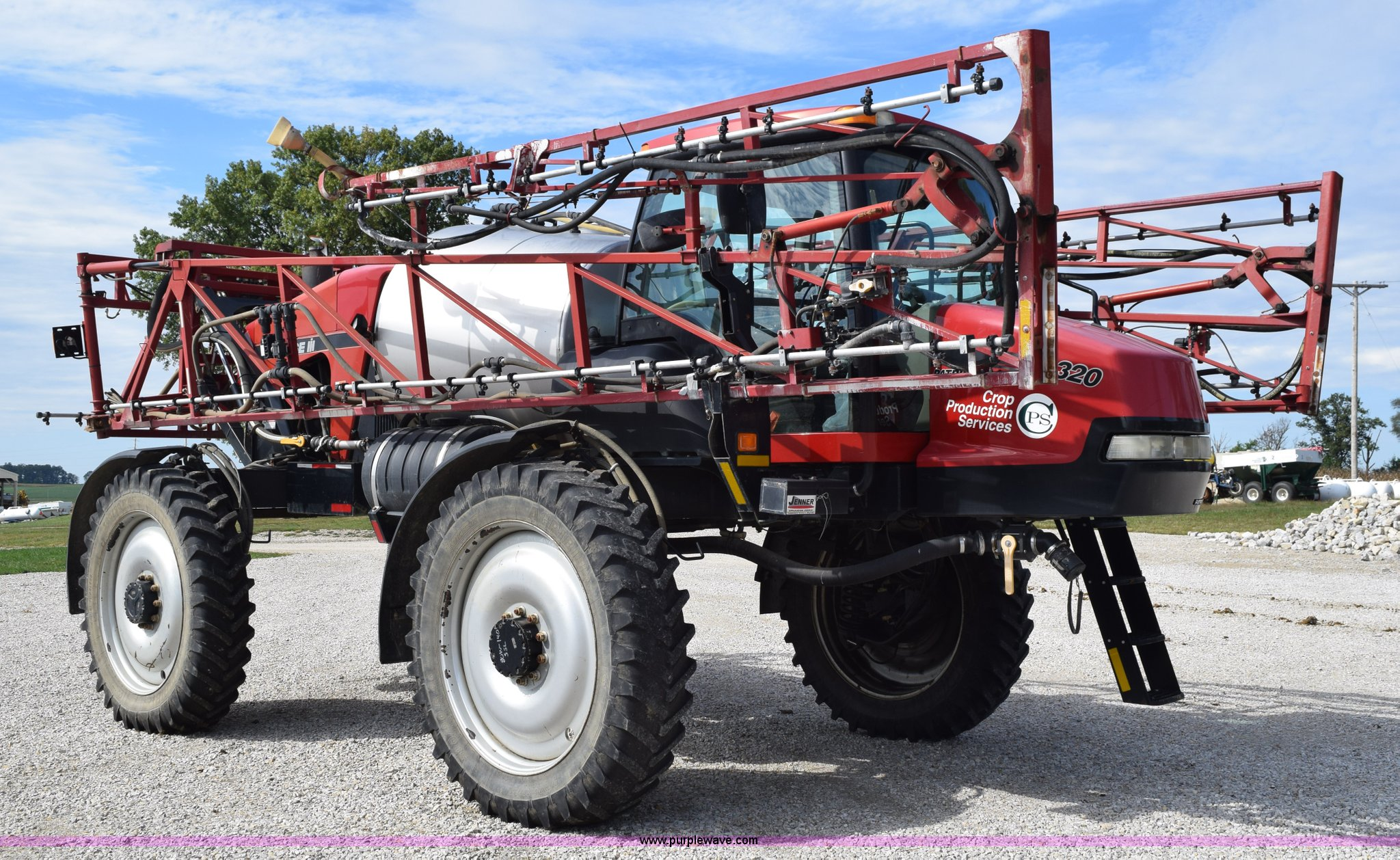 c5197de1244 2007 Case IH Patriot 3320 self-propelled sprayer
