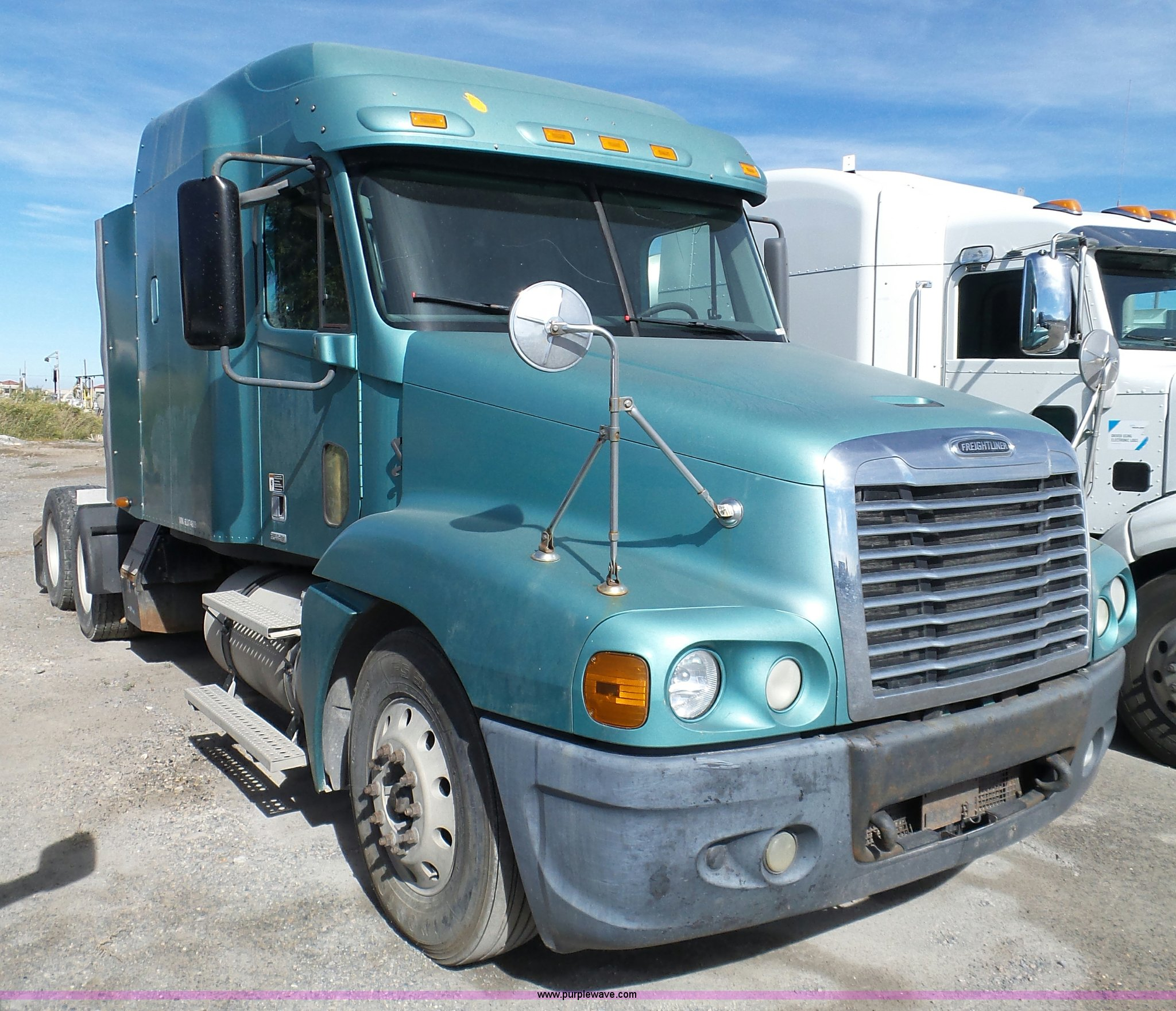 2006 Freightliner Century Fuel Filter Electrical Wiring Diagram 33976 Class St120 Semi Truck Item Bn94 Wrenches
