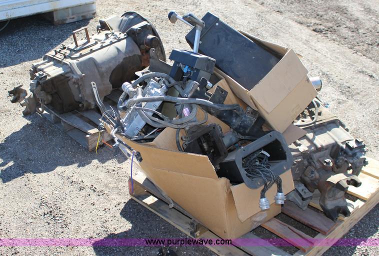 2) Eaton Fuller Autoshift 18 speed transmission   Item BC91