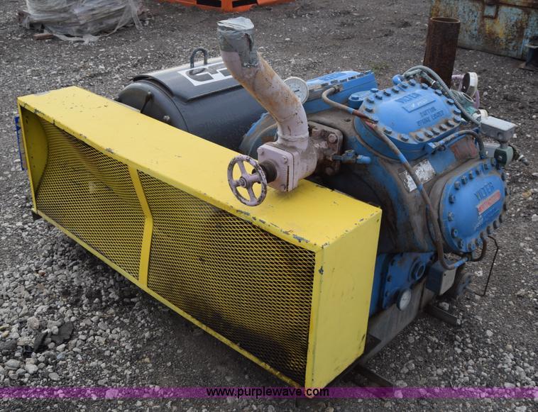 Vilter VMC450 reciprocating compressor in Wichita, KS   Item J7151 sold    Purple WavePurple Wave