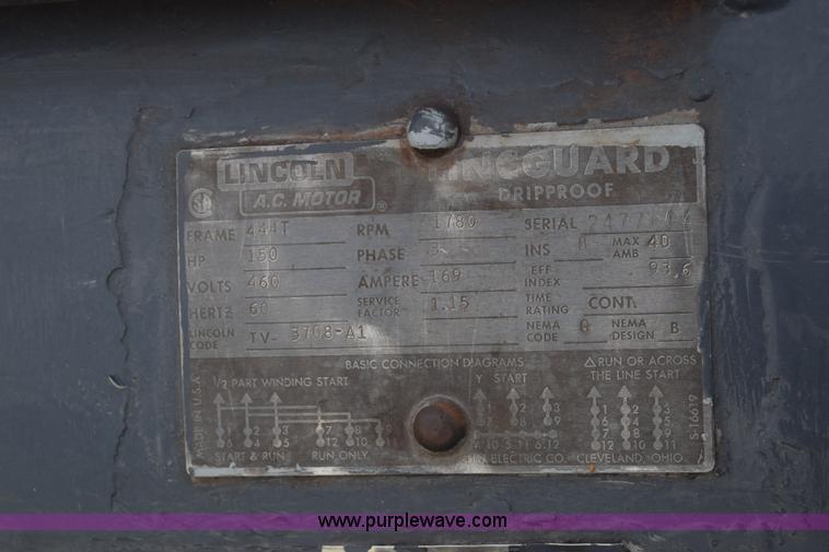 j7151 image for item j7151 vilter vmc450 reciprocating compressor