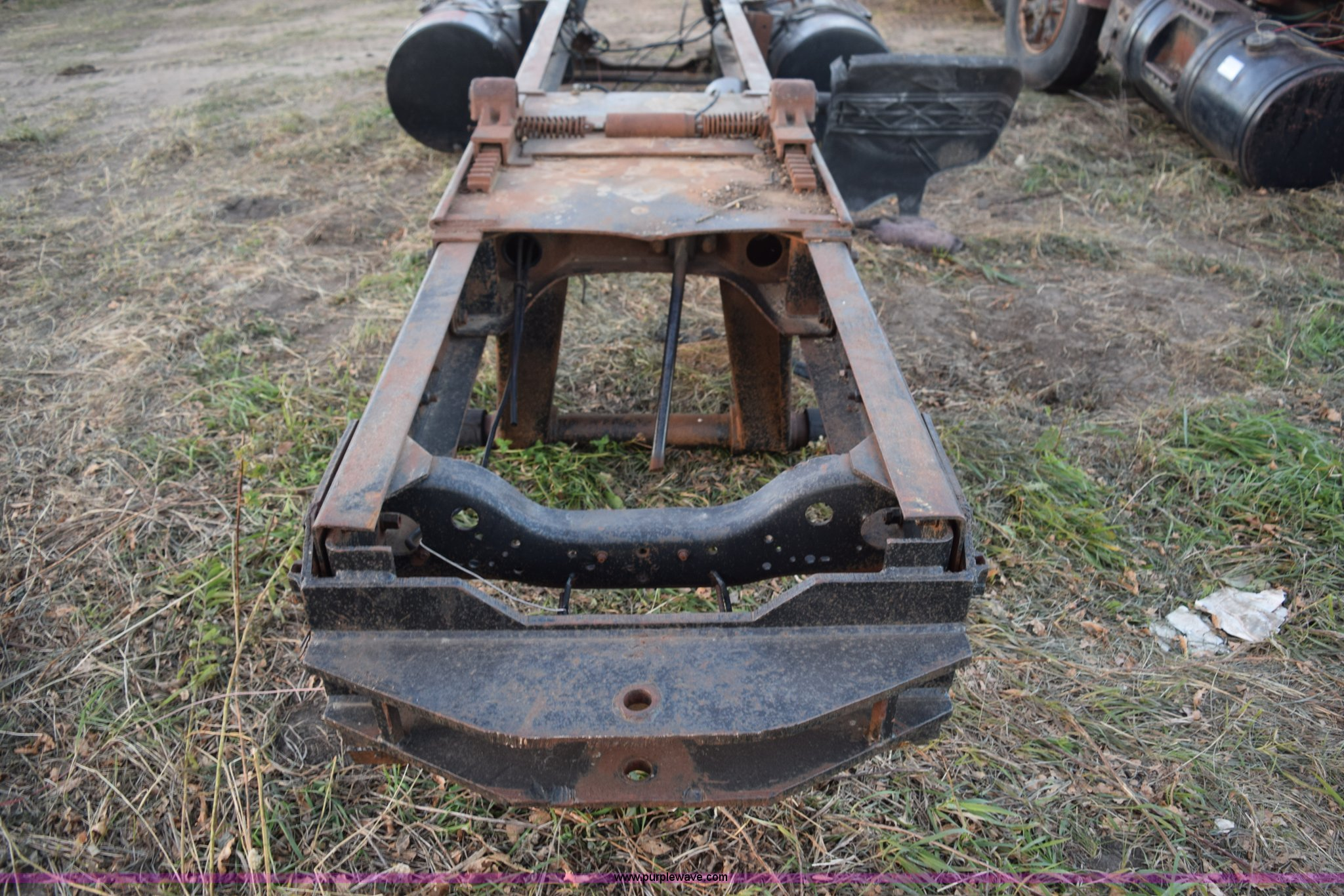 2) Mack R model truck chassis and frame parts   Item L5144 ...