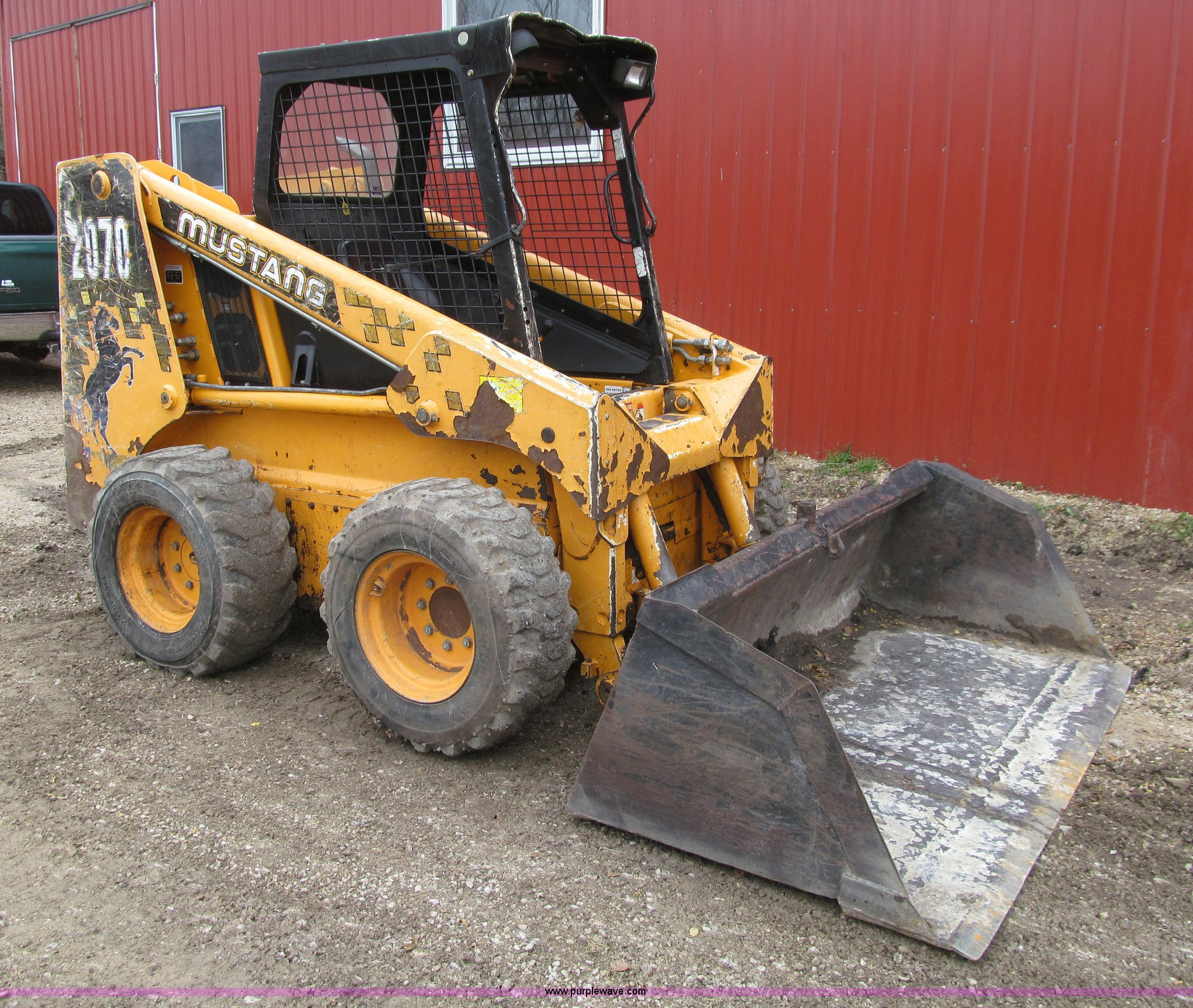 1999 Mustang 2070 Skid Steer Item L1810 Sold November 1 Fuel Filter Full Size In New Window