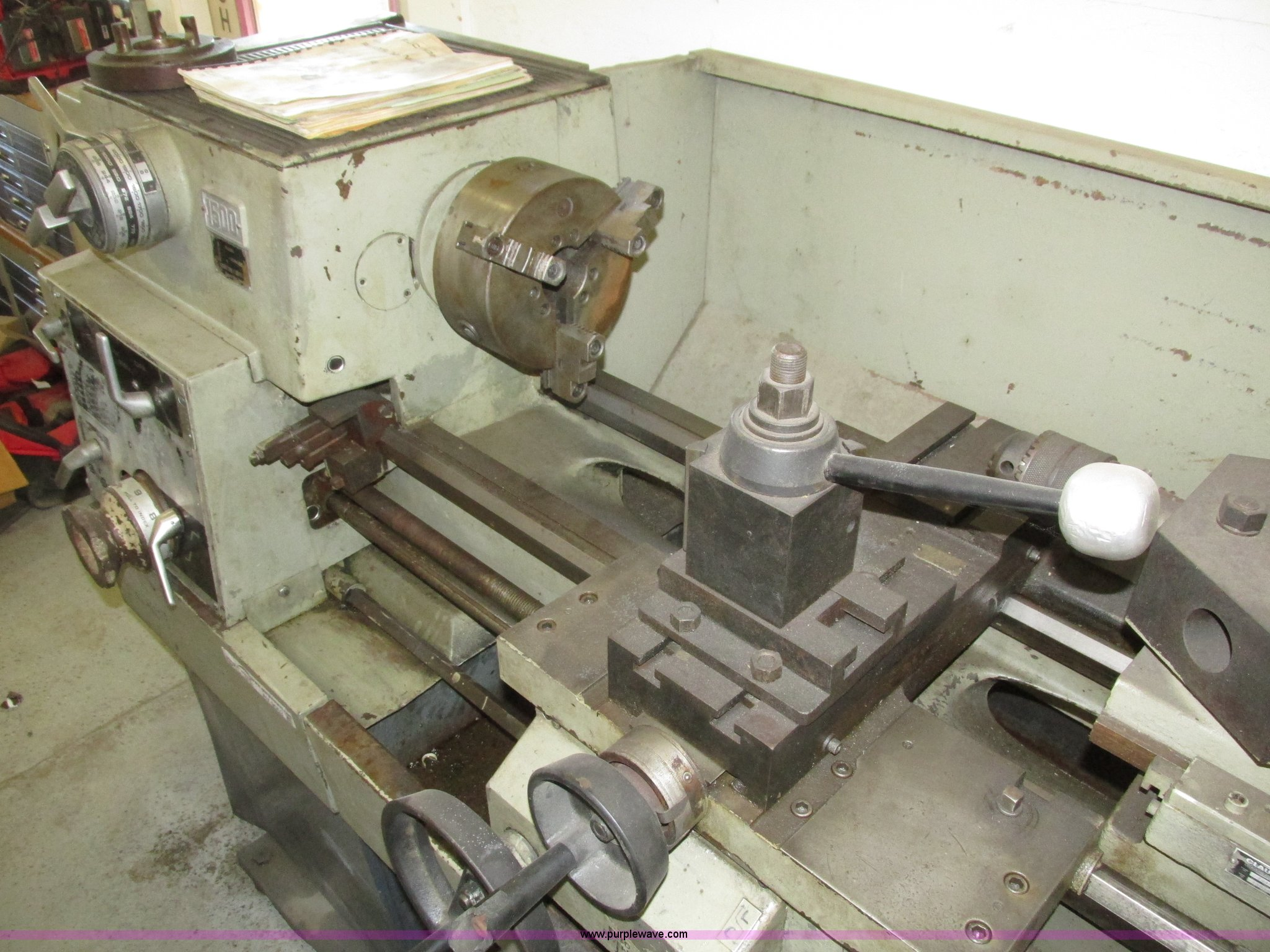 Clausing 1503 Series engine lathe | Item AV9053 | SOLD! Dece