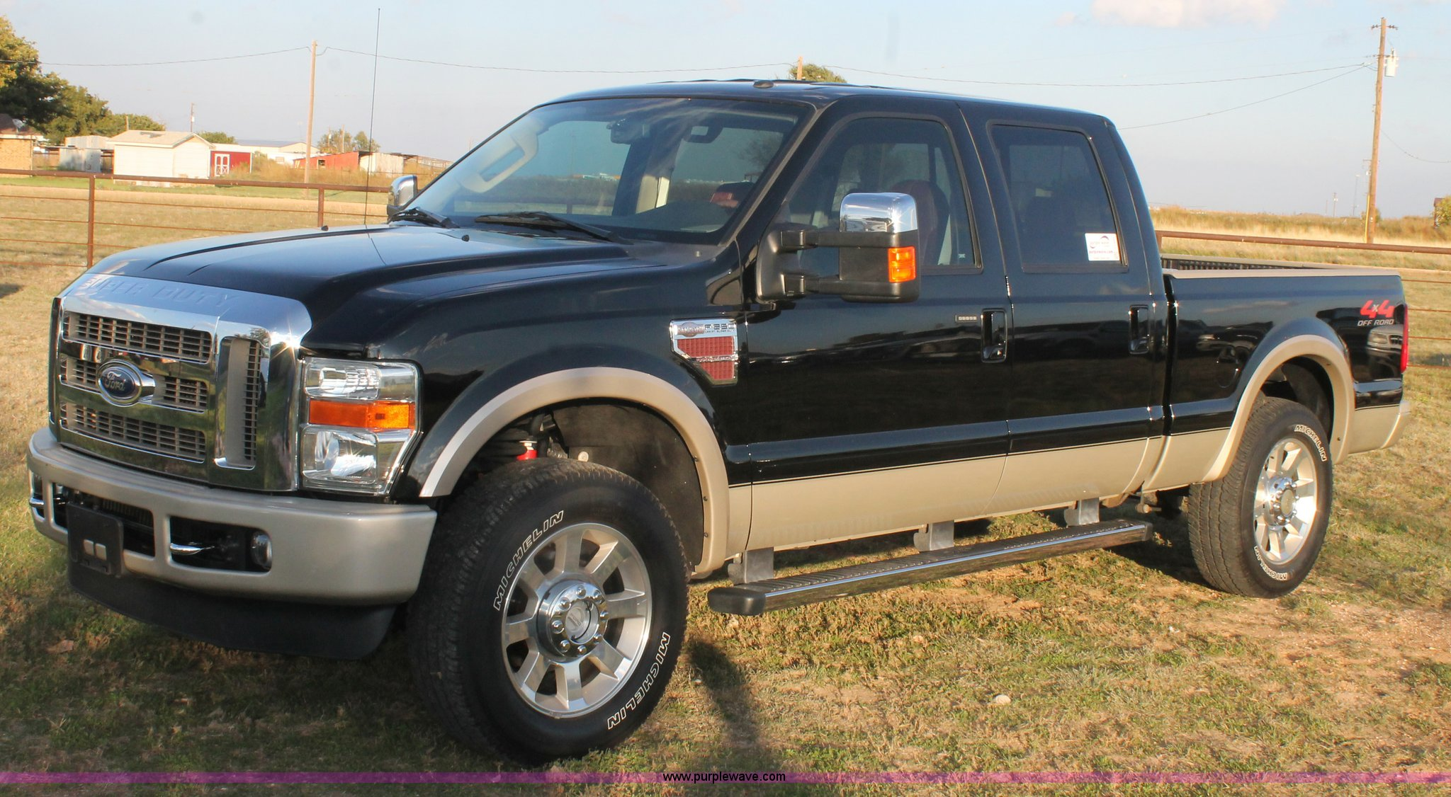 2009 Ford F250 King Ranch Crew Cab pickup truck