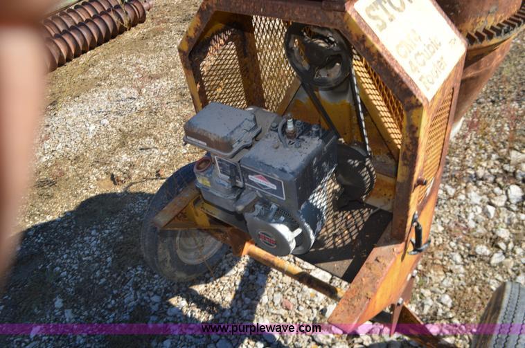 Stow CM4 concrete mixer | Item I6301 | SOLD! December 3 Cons