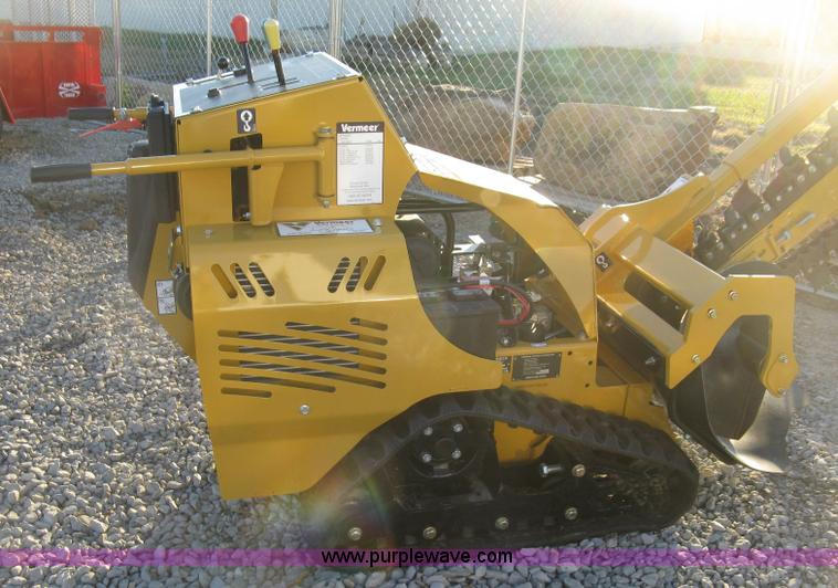 2015 Vermeer RTX250 trencher | Item L6455 | SOLD! December 3... on