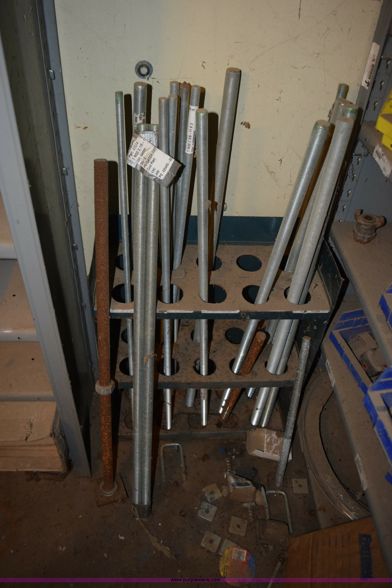Assorted pipe fittings and bins | Item K3384 | SOLD! Decembe