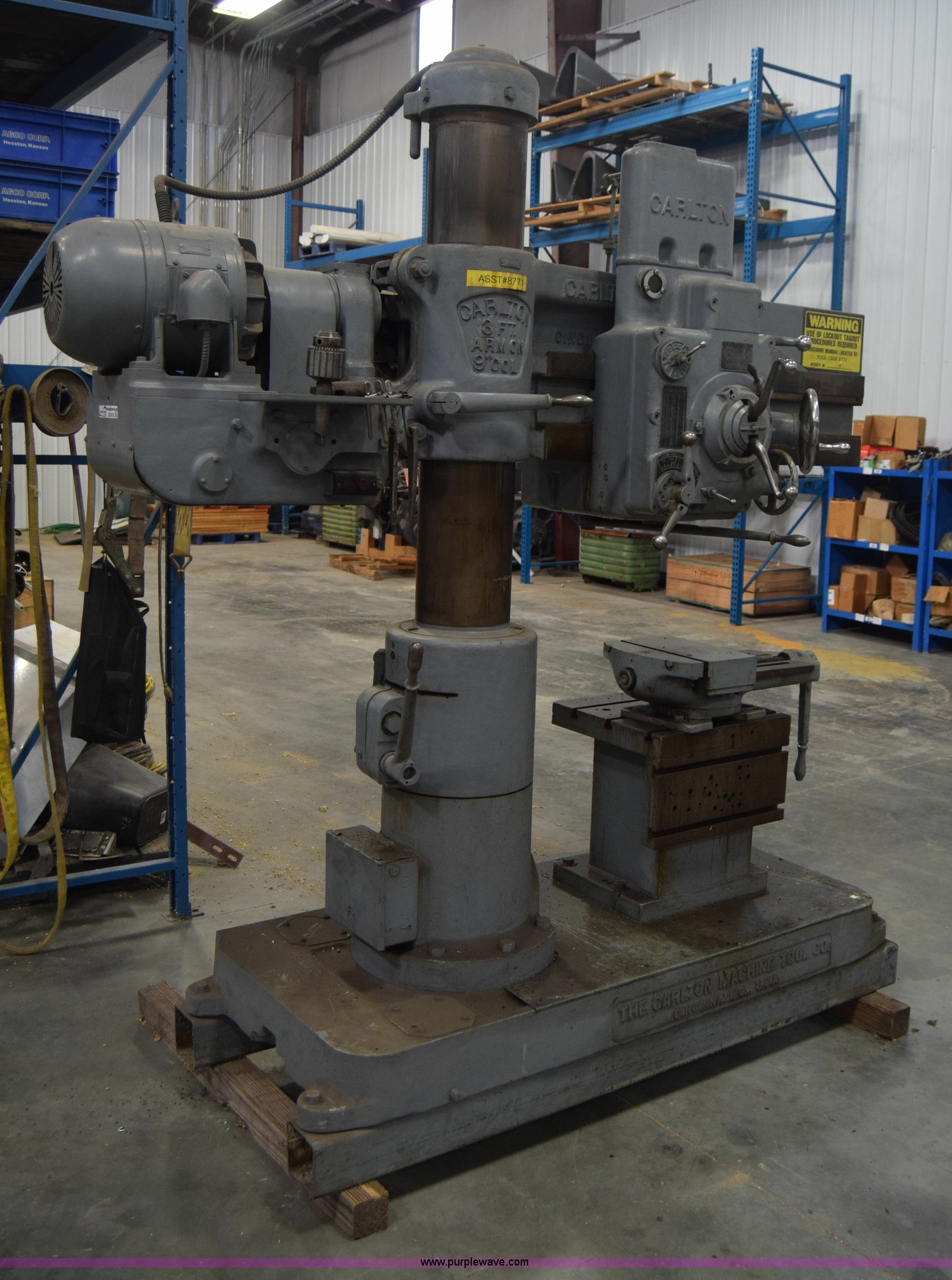 carlton machine