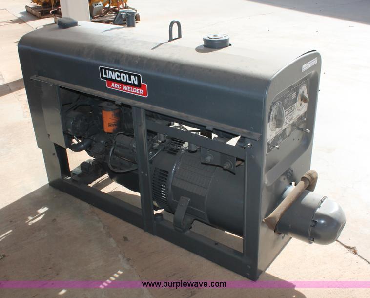 Lincoln SA-200-F-163 welder | Item AO9470 | SOLD! December 1