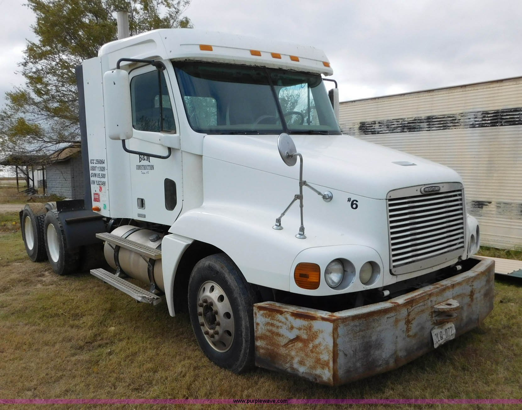 AW9425 image for item AW9425 2000 Freightliner FC2 Century Class ...