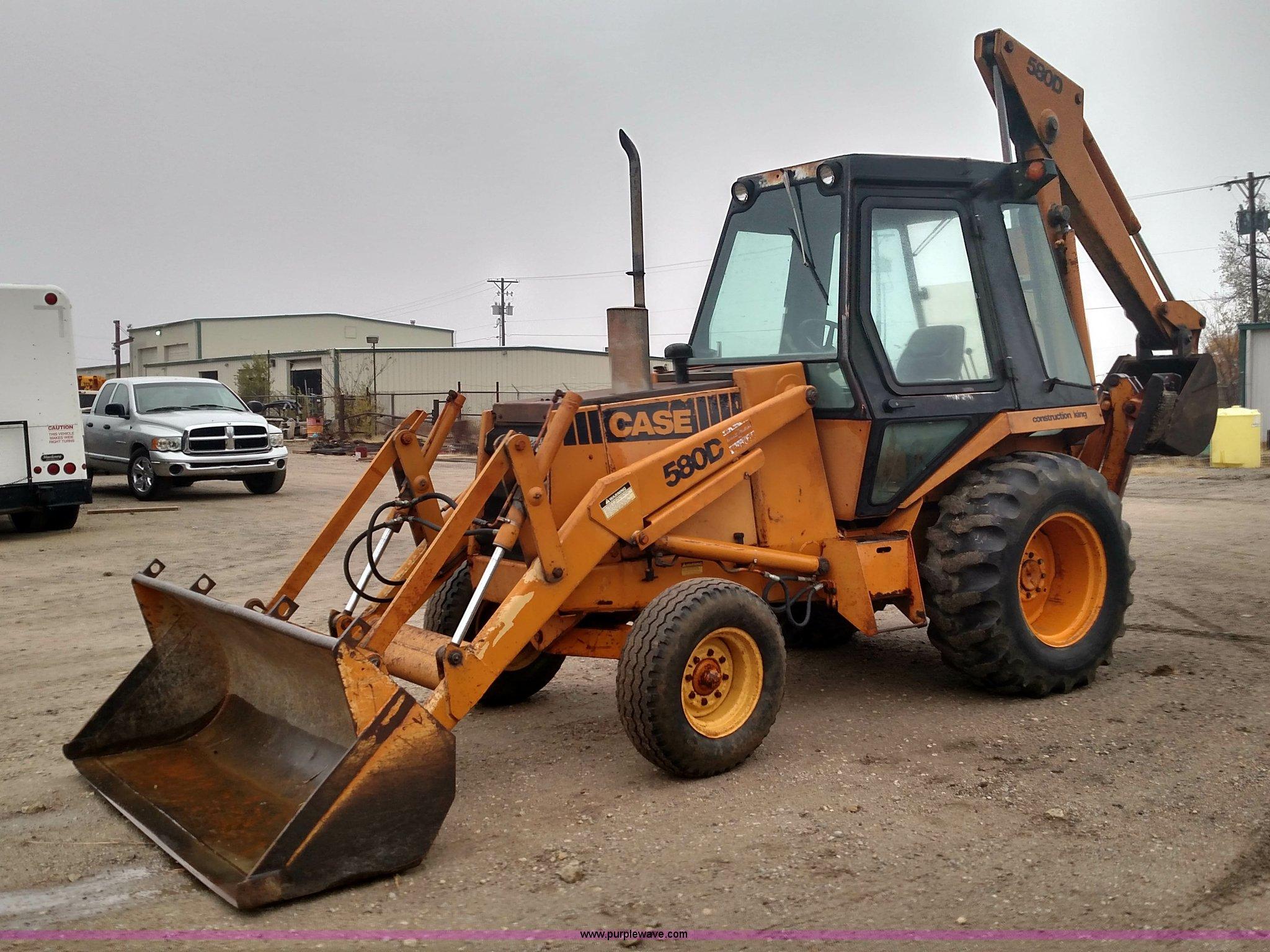 1982 Case Tractors : Case d backhoe item br sold december