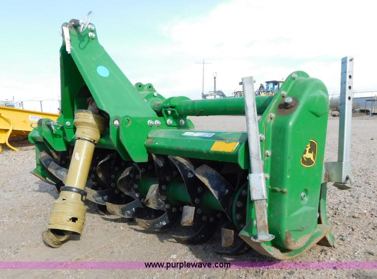 John Deere 665 rotary tiller Item AW9361 SOLD December