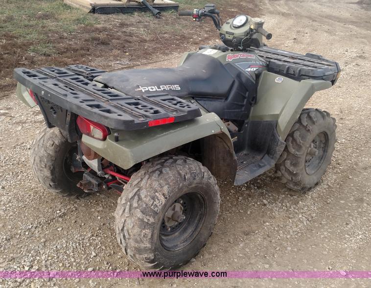 2005 Polaris Sportsman 400 ATV   Item BR9418   SOLD! Decembe