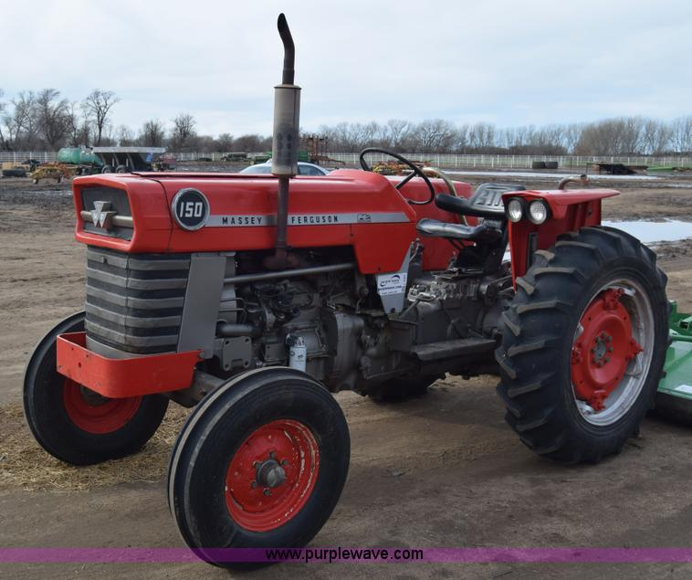 Massey Ferguson 150 : Massey ferguson tractor item l sold december