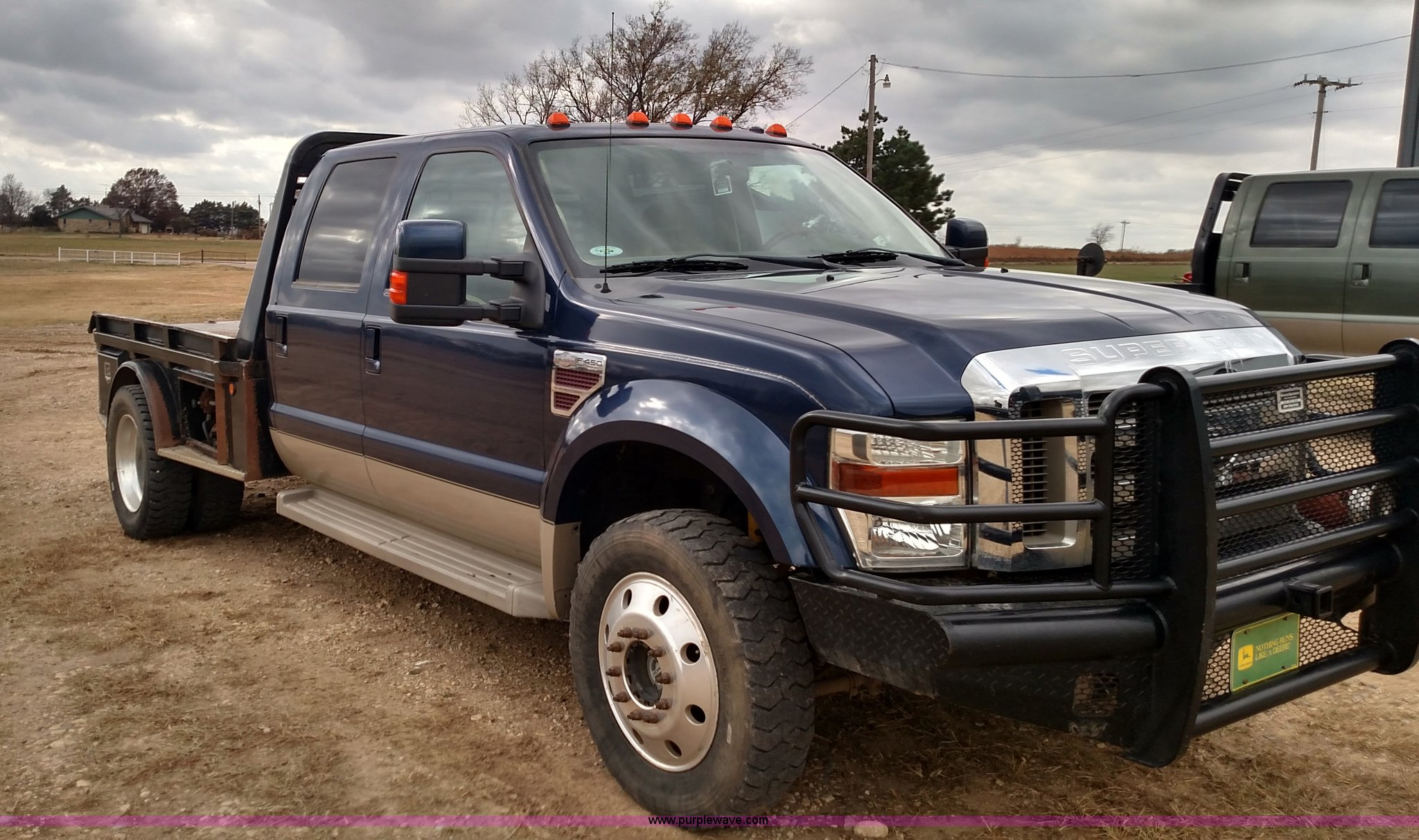 2008 ford f450 super duty lariat king ranch crew cab. Black Bedroom Furniture Sets. Home Design Ideas