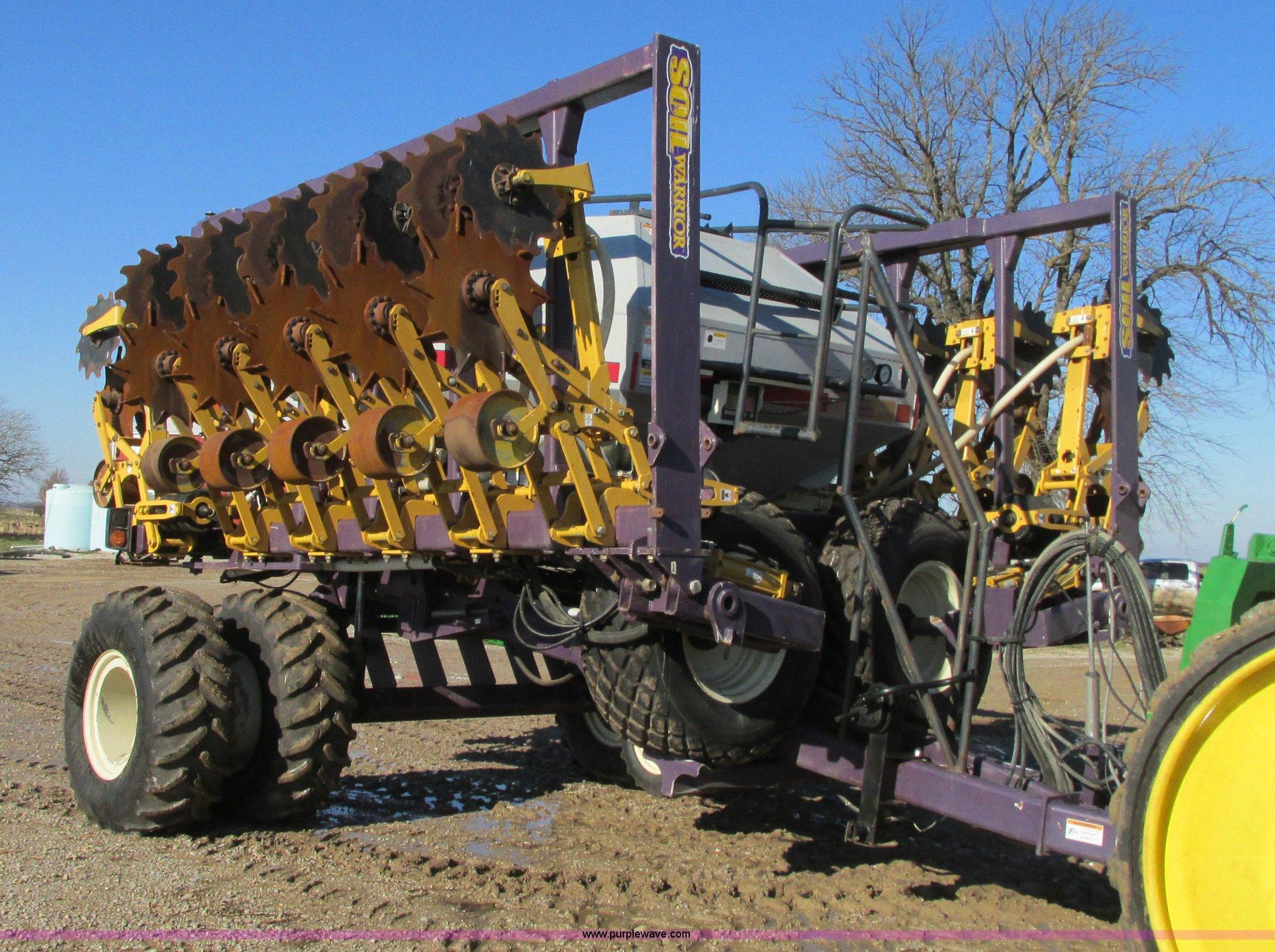 2006 ets soil warrior strip till with fertilizer item for Soil warrior