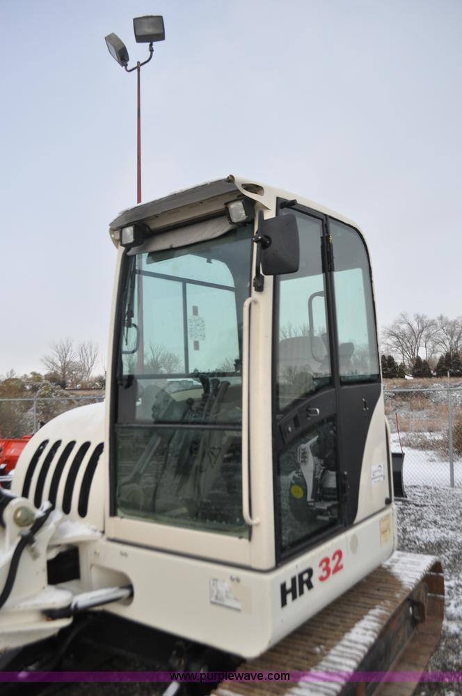 2006 Terex HR32 compact excavator | Item G7038 | SOLD! Decem