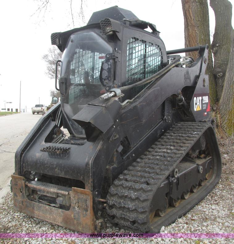 2012 Caterpillar 299D XHP skid steer | Item H1004 | SOLD! De