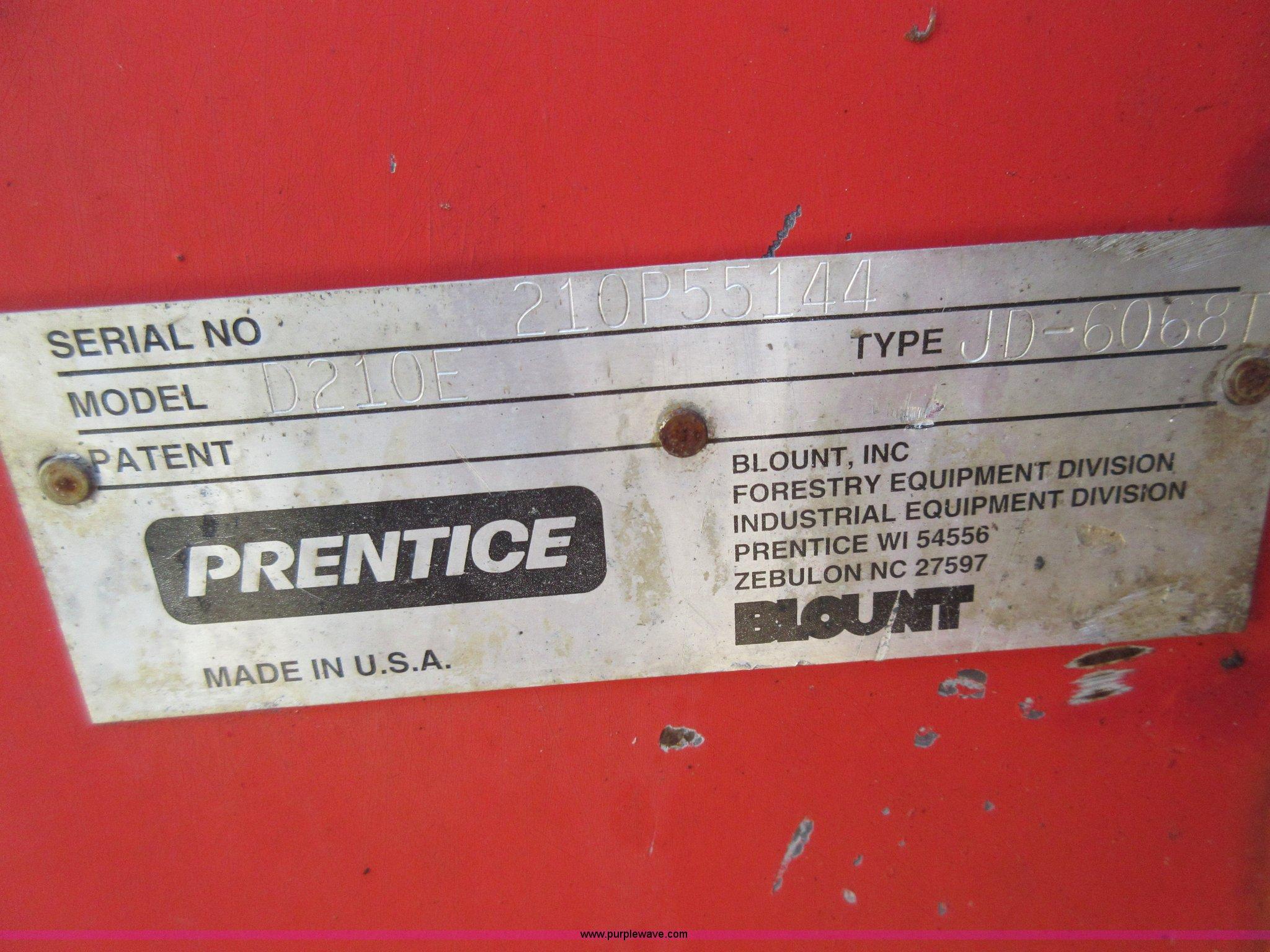Prentice 210E log loader | Item I6459 | SOLD! December 30 Co
