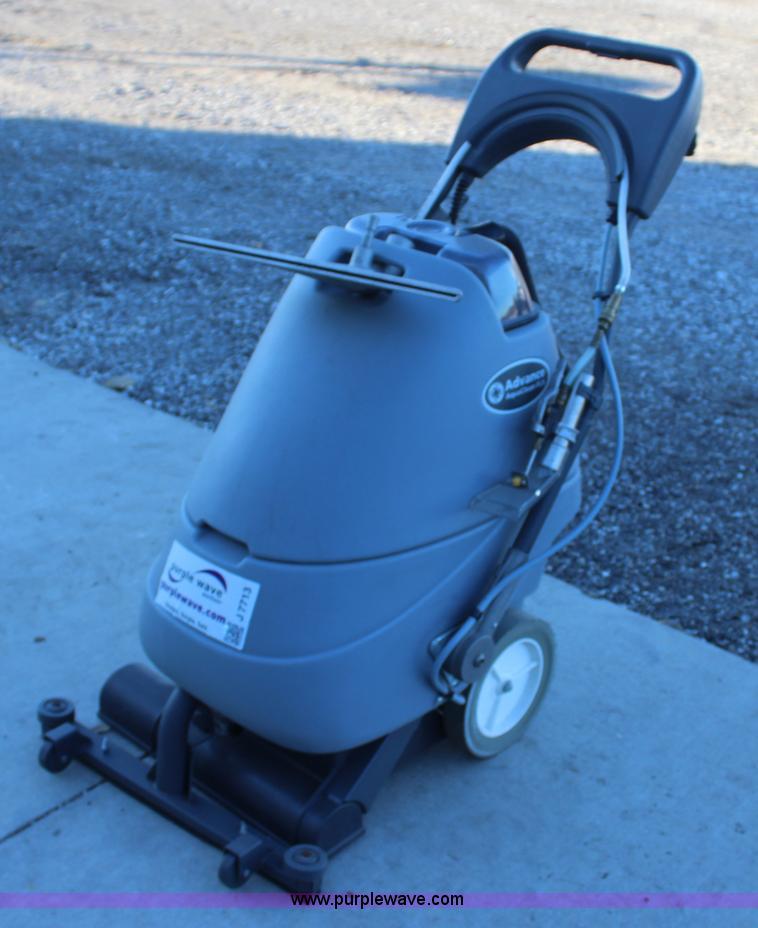 Nilfisk advance aquaclean 18fcx carpet extractor item j771 - Advance carpet extractor ...