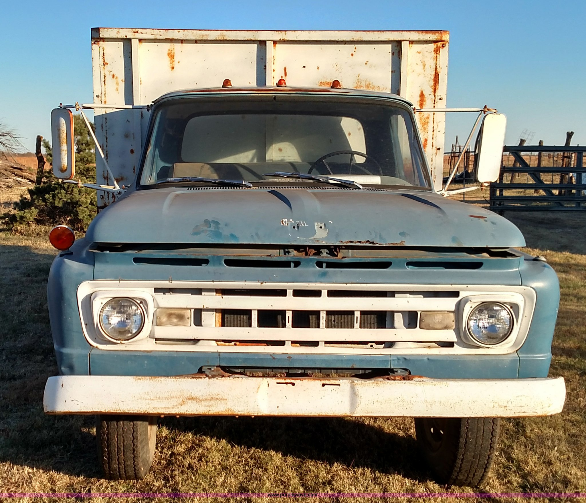 1961 Ford F600 Grain Truck Item Br9435 Sold December 30 Dump Full Size In New Window
