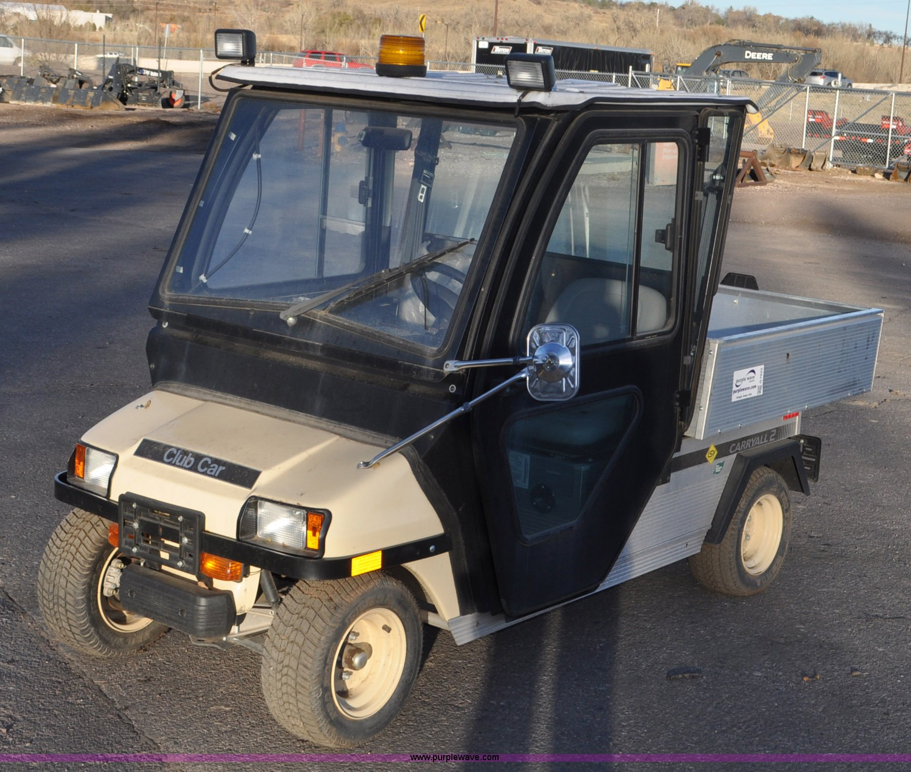 2012 Club Car Carryall 2 Utility Vehicle Item G7033