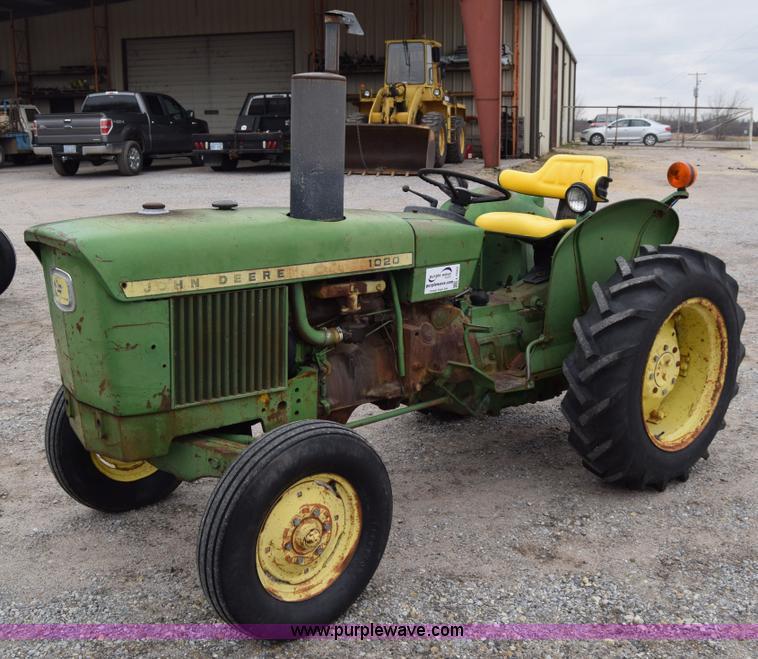 John Deere 1020 Engine : John deere tractor item l sold january ag