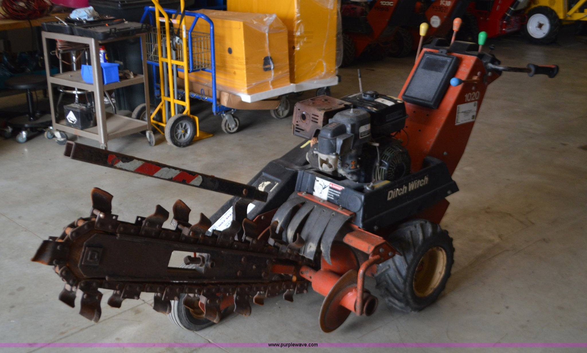 Ditch Witch 1020 Parts Diagram