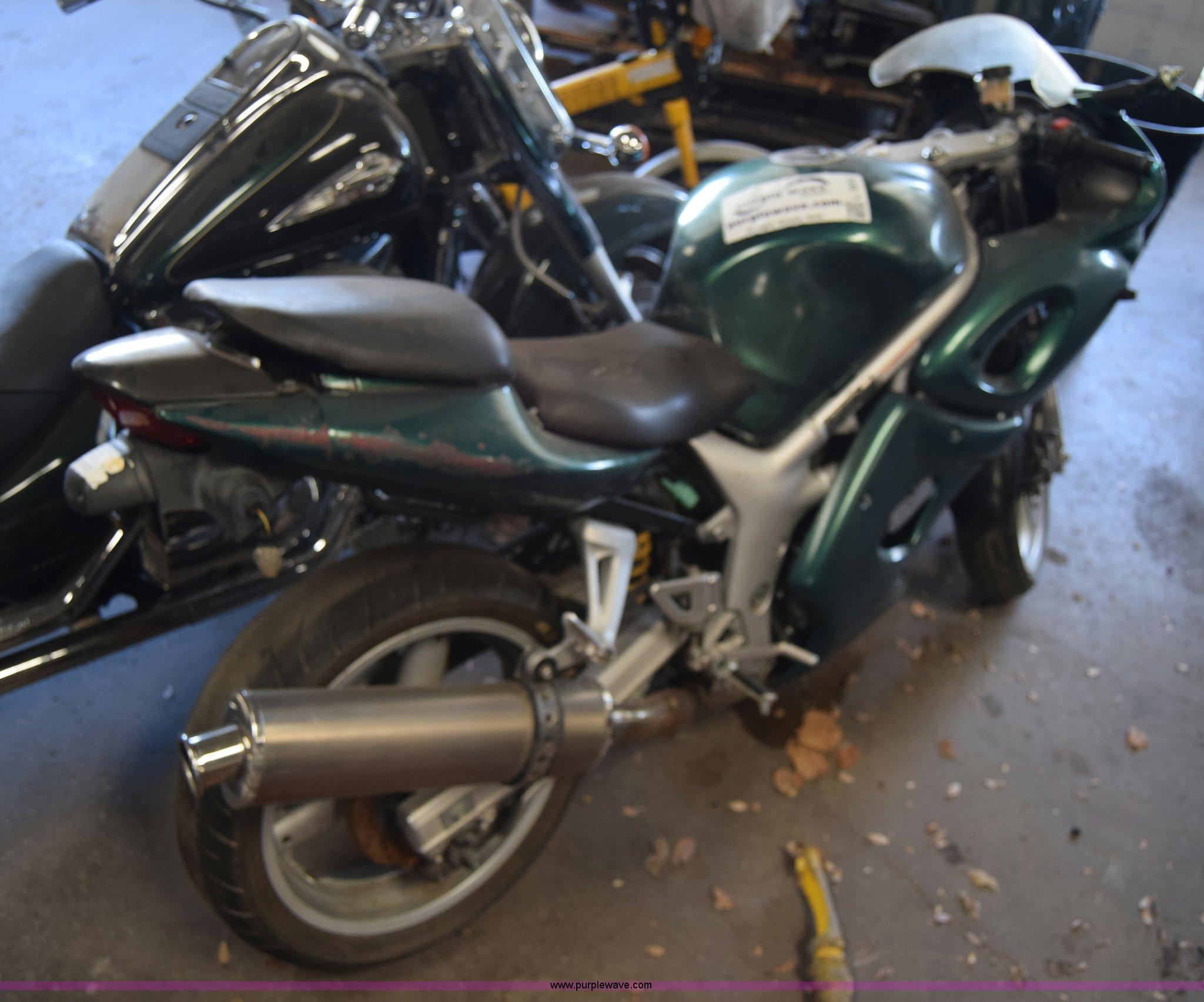 2001 suzuki sv650 sk1 motorcycle item l1012 sold januar