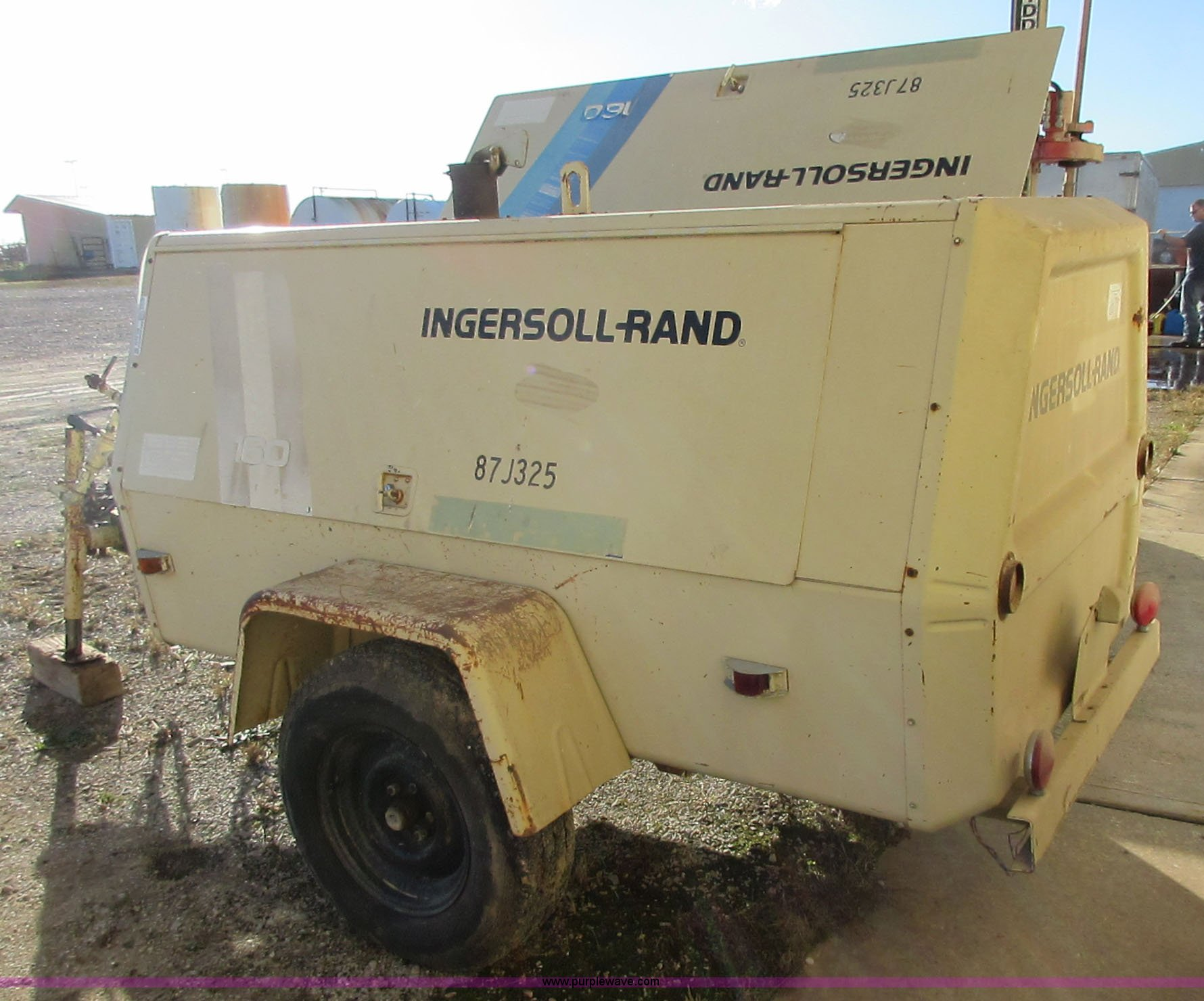 ... Ingersoll Rand 160 air compressor Full size in new window ...